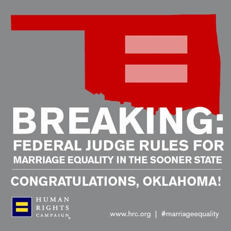 Federal gay marriage ruling