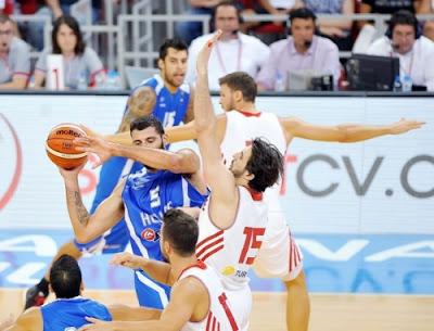 Εθνική Ανδρών: Τουρκία-Ελλάδα 73-64. Δηλώσεις Κατσικάρη-Περπέρογλου-Αταμάν