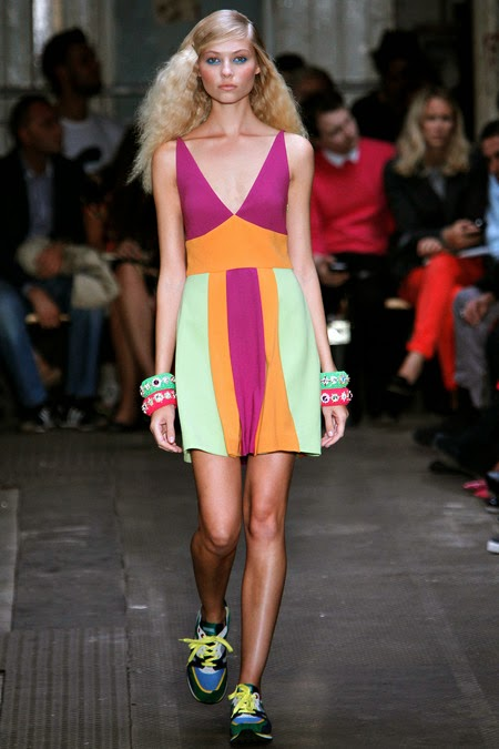 spring 2013 Moschino Cheap And Chic