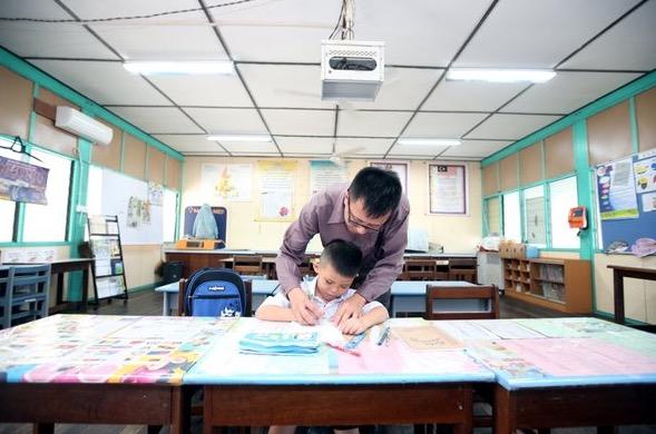 SJKC Aik Hua hanya mempunyai seorang pelajar