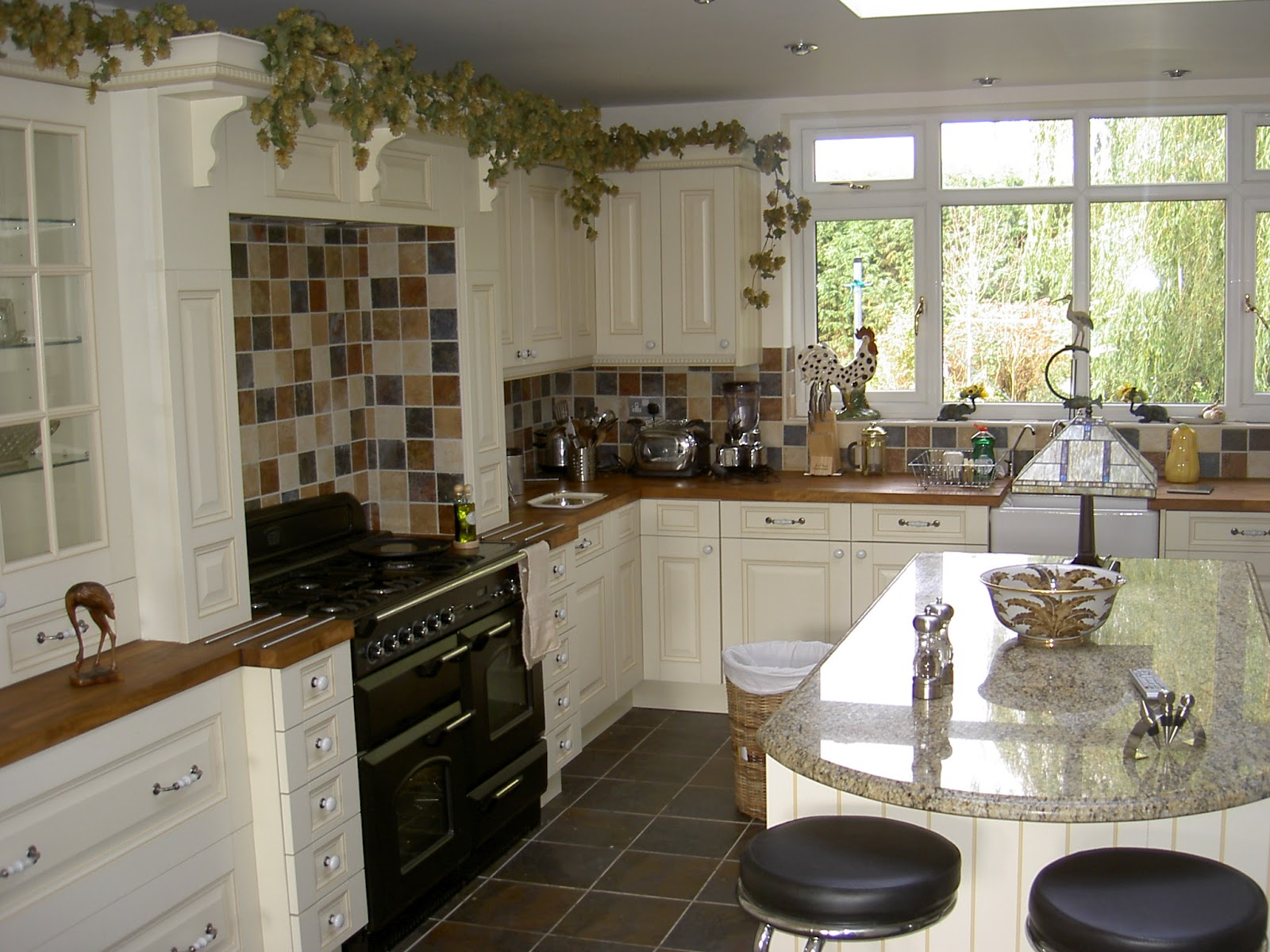 Interior Country Style Kitchen