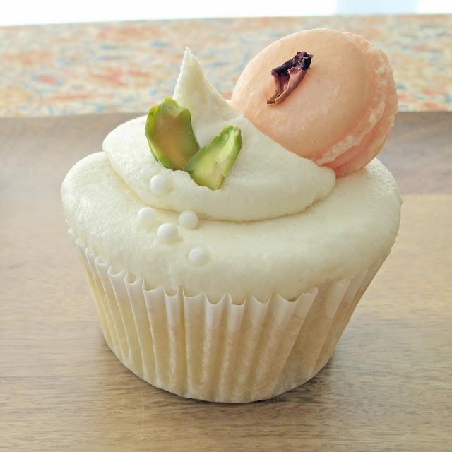 Vanilla Pistachio Cupcake