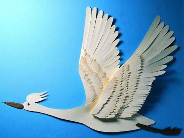 unique paper cutting art