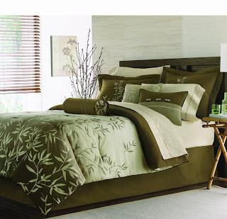 Roupa de cama de casal moderno