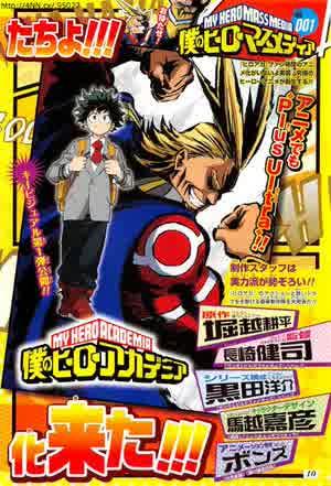Staff Utama Untuk Anime 'Boku no Hero Academia' Telah Diungkapkan