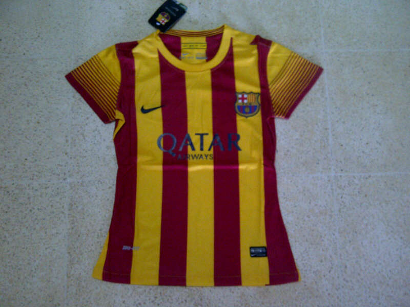 Jual jersey barcelona away for ladies 2013 2014 jual jersey grade ori original - Forlady barcelona ...