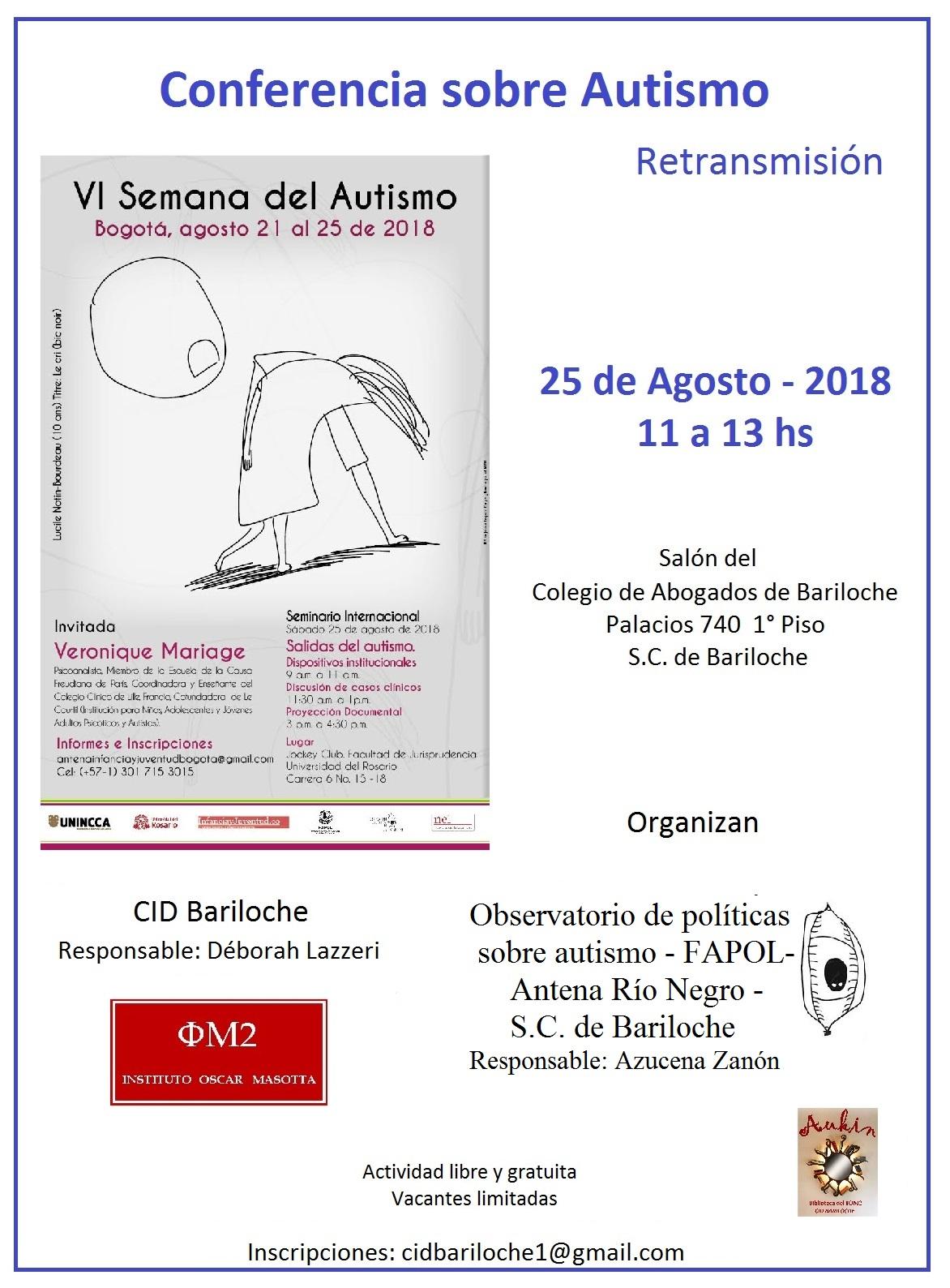 Conferencia sobre Autismo