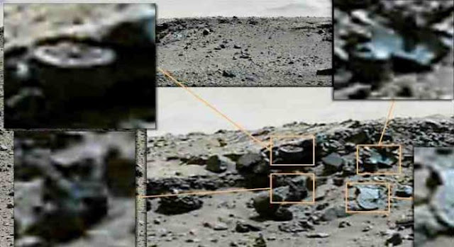 Η Nasa βρήκε Μηχανικά Μέρη και έναν Τροχό στον Πλανήτη Άρη; (Βίντεο)