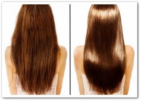 Глазирование волос волос