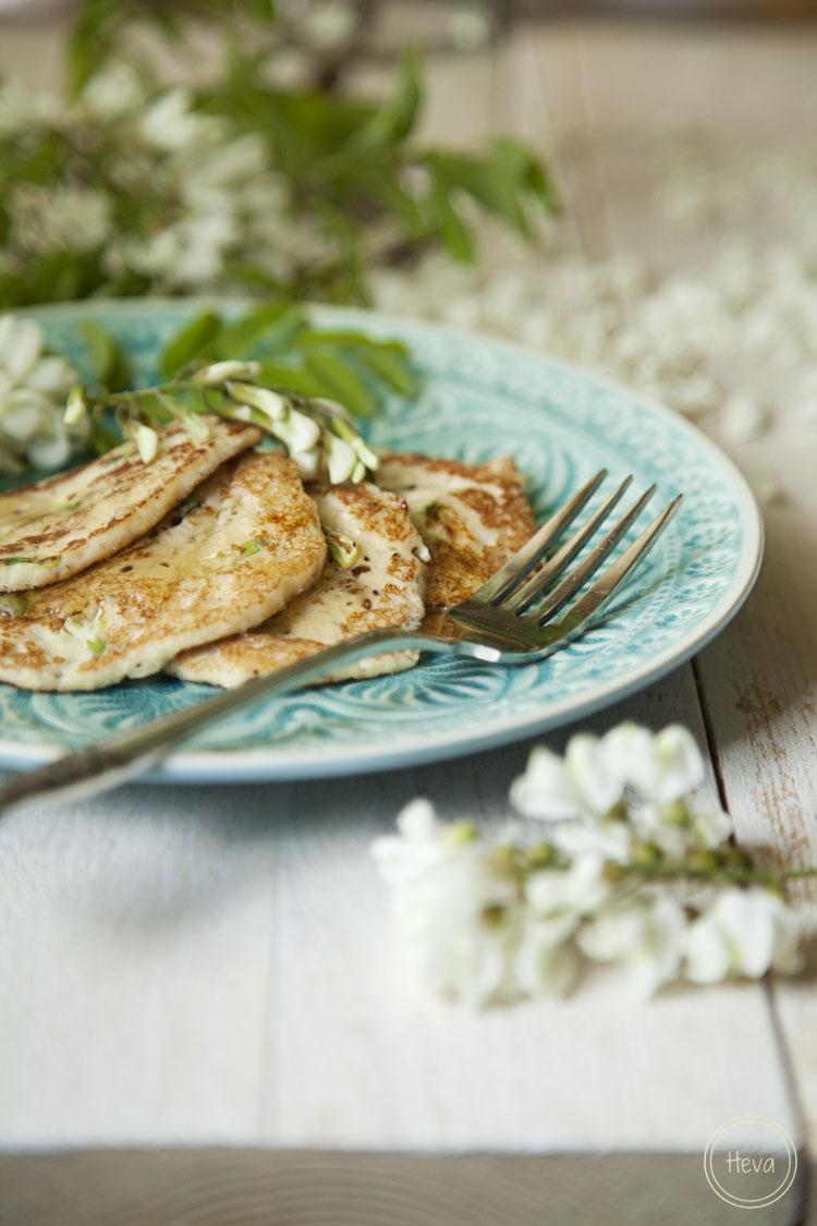 Tarjeta d embarque: Tortitas de almendra y flor de acacia