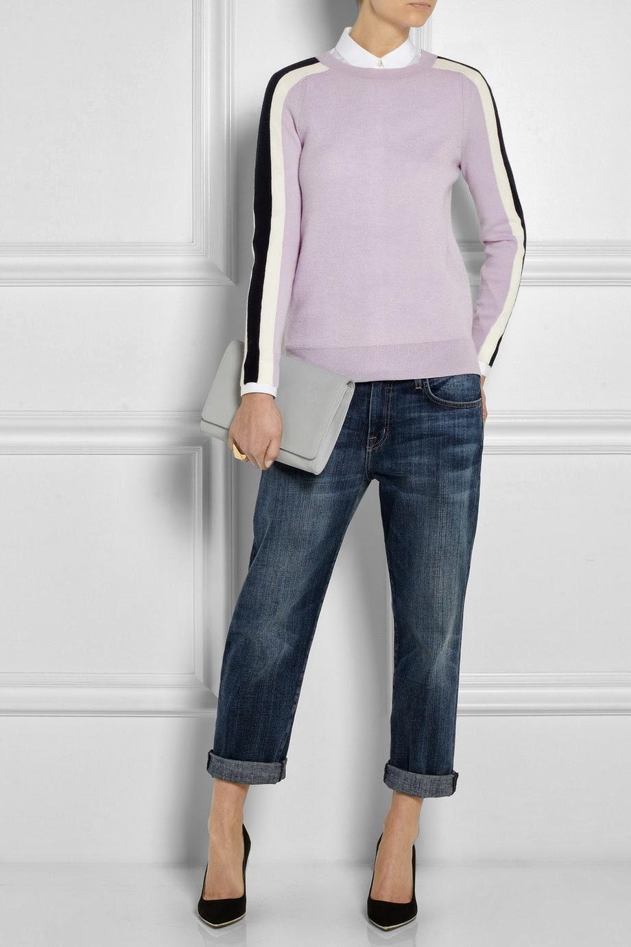 J Crew lilac jumper