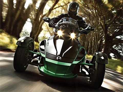 2012 Can-Am Spyder RS-S Motorcycle Photos, 480x360 pixels