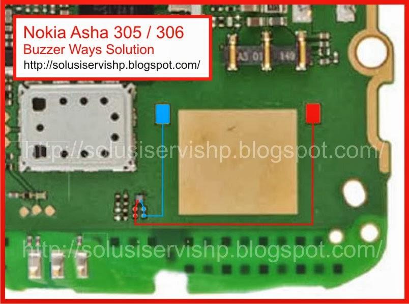 Nokia Asha 305 - 306 Buzzer Ways Solution