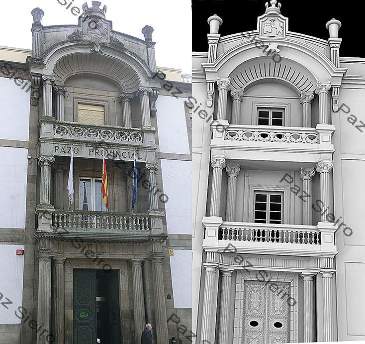 Edificio p rez bobo pazo provincial 1850 1912 ourense - Arquitectos ourense ...