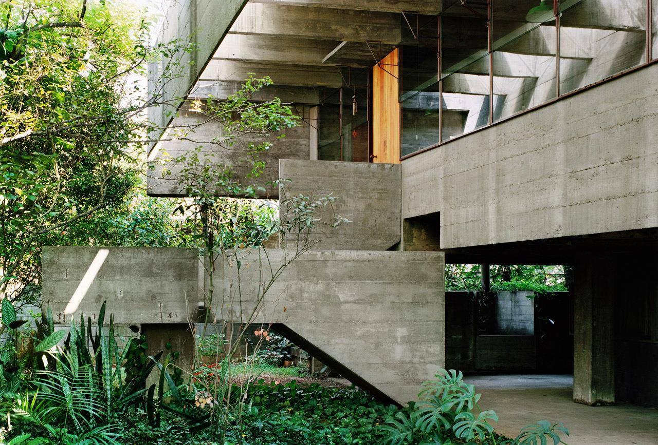 By zonarquitec casa butanta sao paulo brasil arquitectura for Parasoles arquitectura