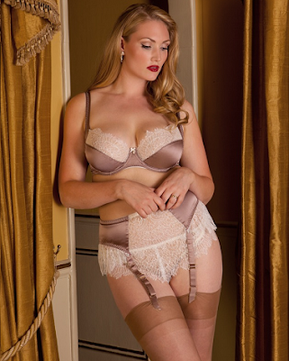 Eleanor Mink Bra and French Knickers