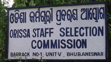 Odisha SSC Staff Selection Commission