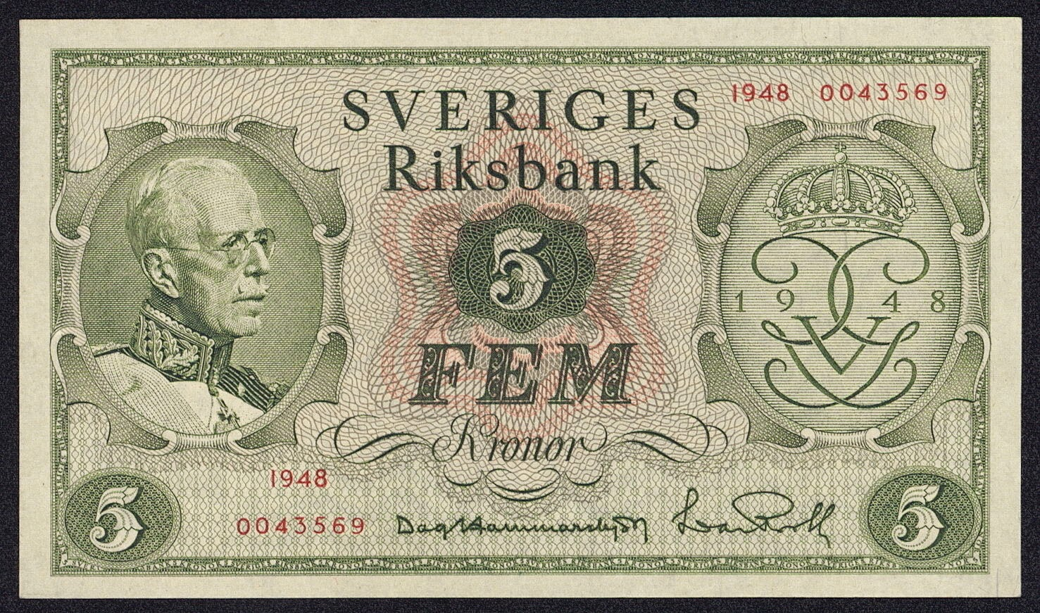 Sverige money