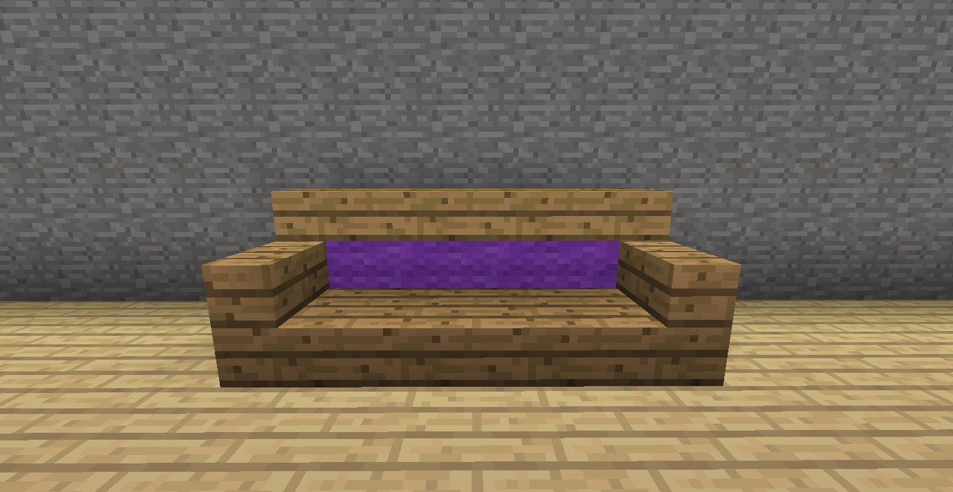 MINECRAFT: Muebles y decoración en Minecraft sin mods