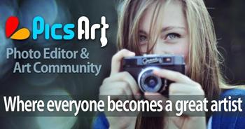 edita tus fotos al instante con PicsArt - www.dominioblogger.com