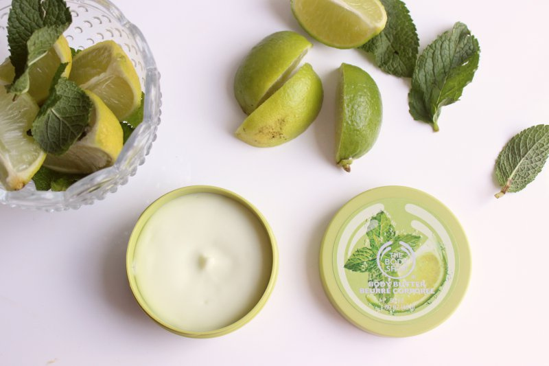 Image result for Smooth on fresh hydration with our Special Edition Virgin Mojito Body Butter that is refreshingly fragranced with a twist of zesty lime and the scent of fresh mint. Ideal for normal to dry skin. Our Body Butter hydrates skin for up to 24 hours Lightweight texture Suitable for normal to dry skin With lime and mint extracts from the Caribbean 100% Vegetarian