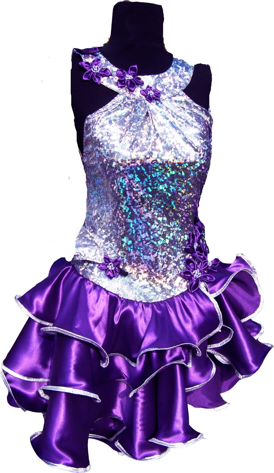 Фото платьев для спортивных бальных танцев 6