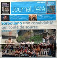 Journal de l'été, Sorbollano