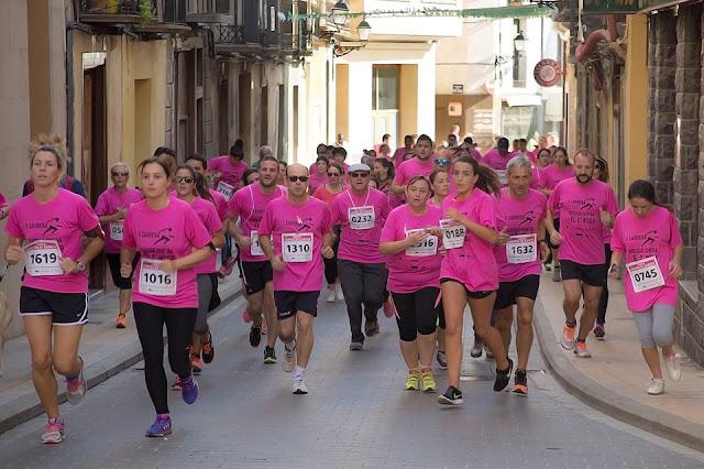 Fotografía de la II carrera Huesca contra el cancer