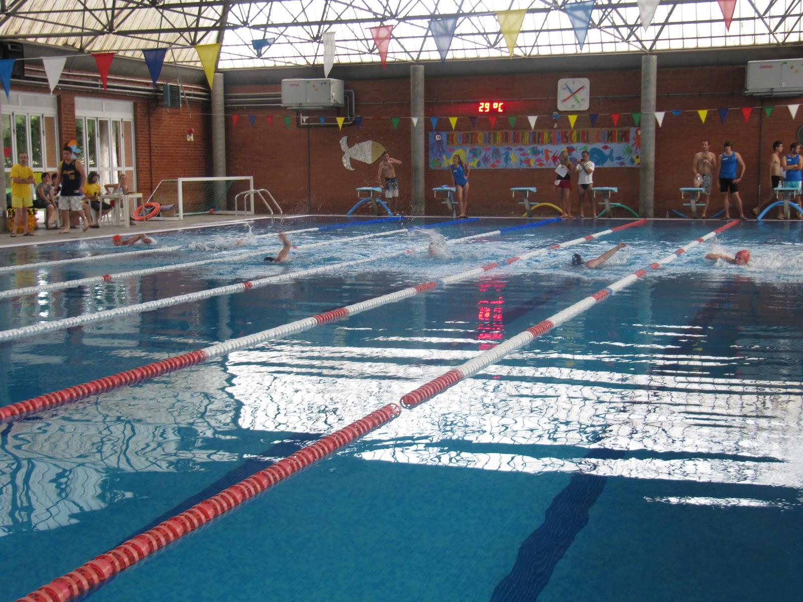 Amigos de la natacion valenciana mayo 2013 - Piscina san vicente ...