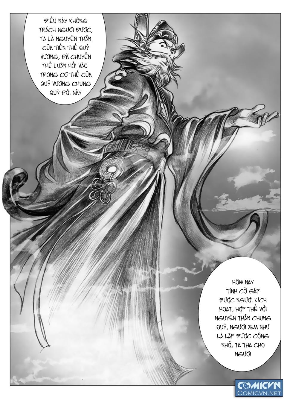 Chung Quỳ Truyền Kỳ Chapter 5 - Hamtruyen.vn