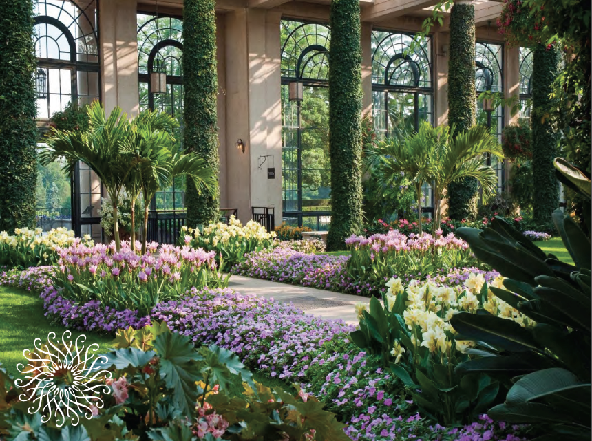 Garden tourism conference longwood gardens part ii for Landscaping longwood