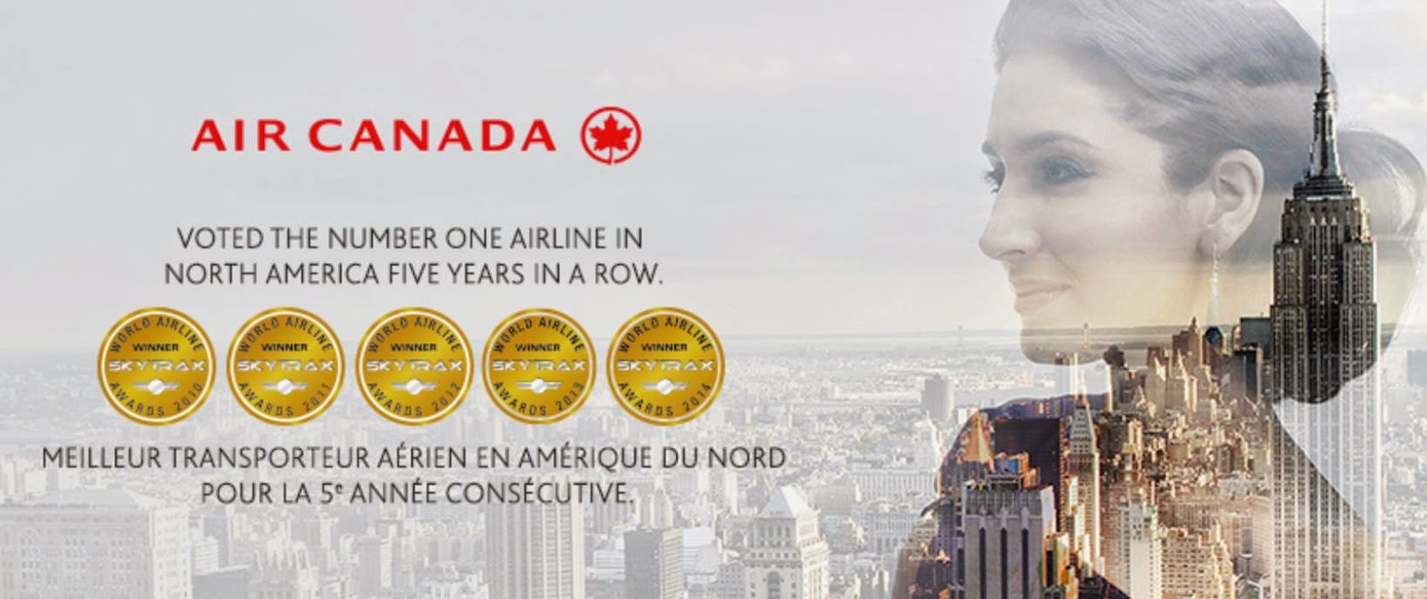 加拿大航空 Air Canada 直飛溫哥華$5,250起、轉飛多倫多$6,055起,2016年2月前出發。