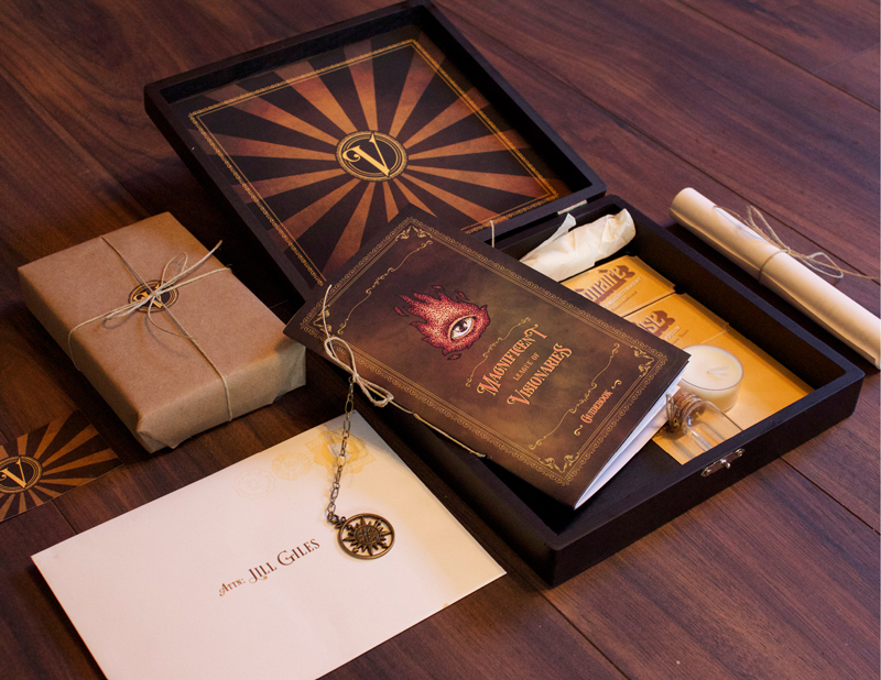 cigar box promotional gift