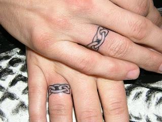 Tattoo ideas tattoo designs ring tattoo designs for Interlocking wedding rings tattoo