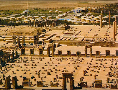 Las ruinas de Persépolis, antigua capital del Imperio Persa