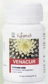 Venacur Obat Herbal Wasir