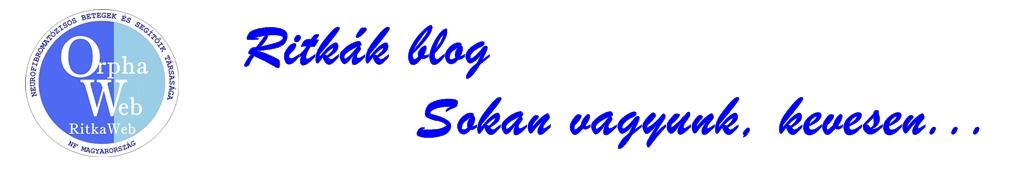 OrphaWeb Ritkál Blog