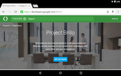 Google Officially Announced Its Iot Platform, Projection Brillo