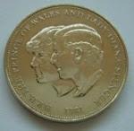 Syiling Kenangan Perkahwinan Putera Charles dan Lady Diana 1981
