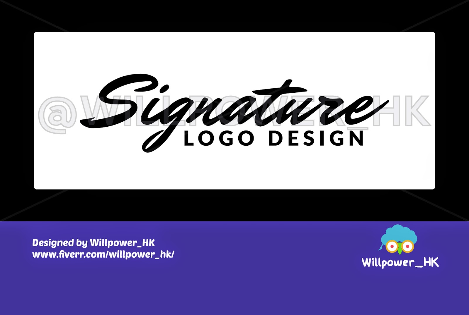 Cheap-Fiverr-Signature-Logo-Design-Service