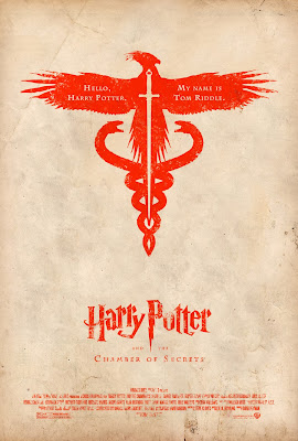 Harry potter y la camara secreta poster