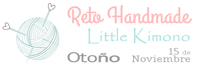 Reto handmade little Kimono: OTOÑO.