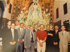 FOTO EN RECUERDO A DON ANTONIO MARTIN MENDEZ PARROCO QUE FUE DE HUEVAR DEL ALJARAFE