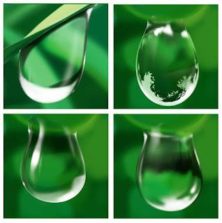 قطرات-ماء