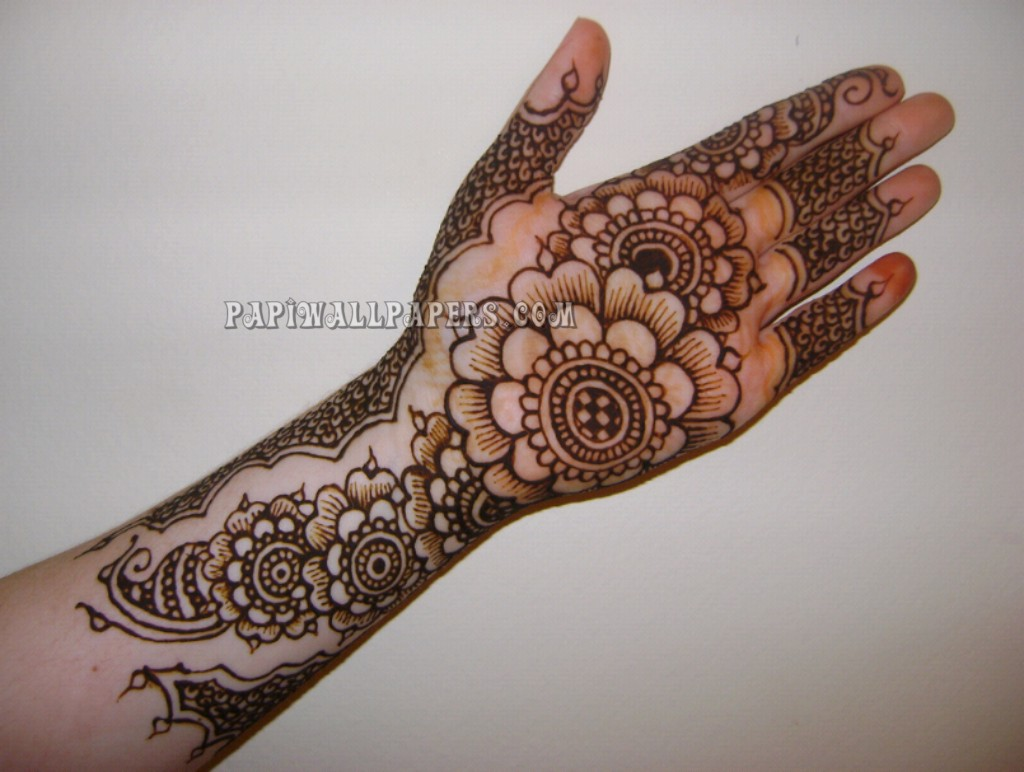 Muslim Mehndi Patterns : Muslim mehndi designs for hands makedes