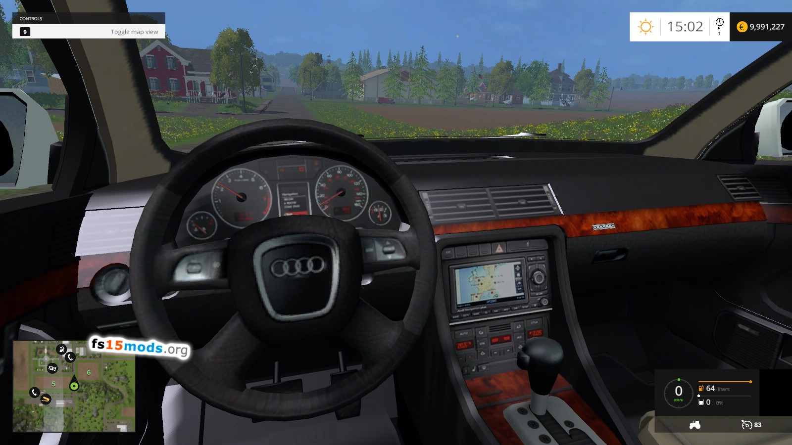 Audi A4 Avant Quattro Fs15 Mods