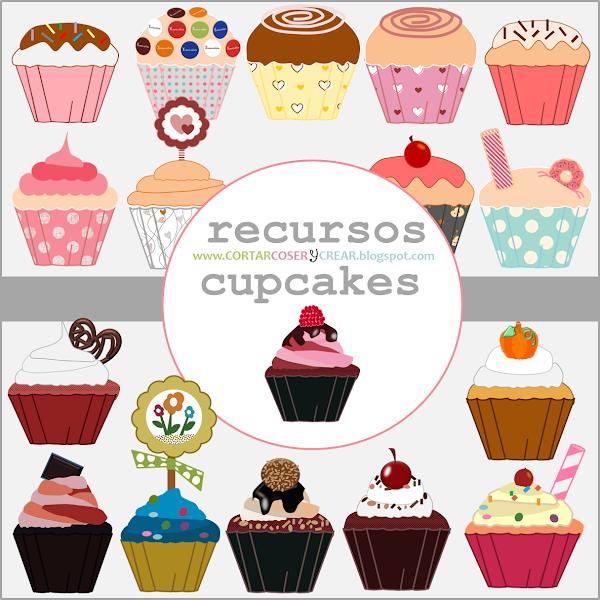 cupcakes recursos digitales gratuitos