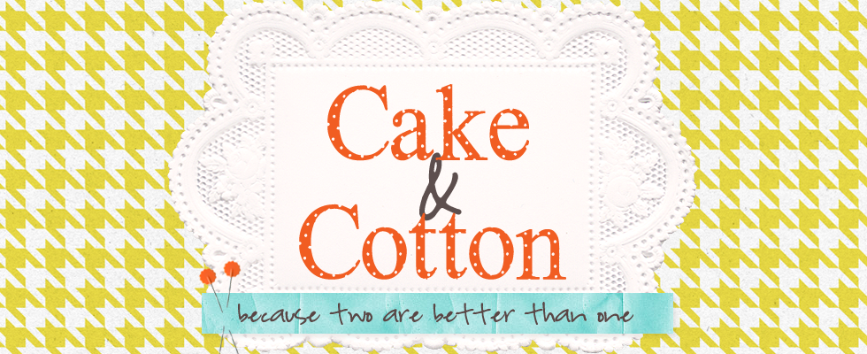 cake and cotton