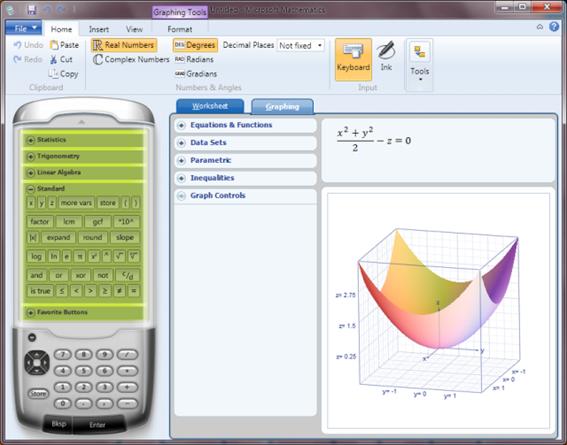 Aplikasi Laptop Microsoft Mathematic