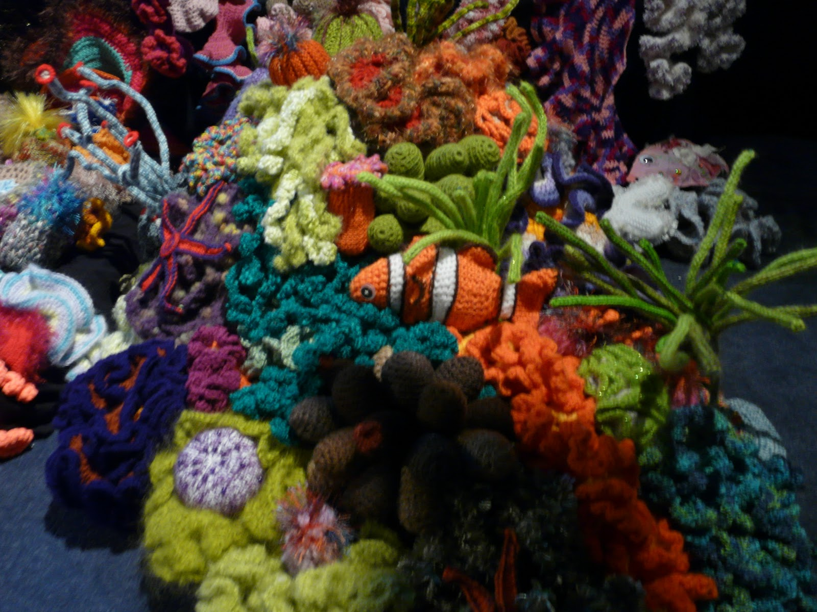 The Land of Melting Shadows: Crochet Coral Reef